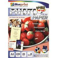 Blueprint photo paper double side
