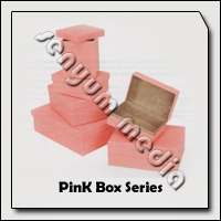 SHOE BOX PINK 155X105X65MM 8900 56