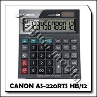 CALC CANON AS-220RTS HB/12