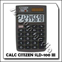 CALC CITIZEN SLD-100 III