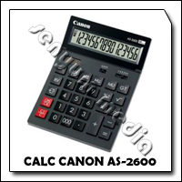 CALC CANON AS-2600