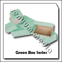 PASS BOX GREEN 155X105X65 8901 63