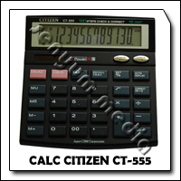 CALC CITIZEN CT-555