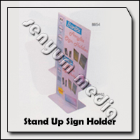 STAND UP SIGN HOLDER A4 8854
