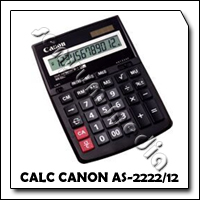 CALC CANON AS-2222/12