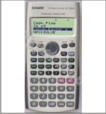 Casio Financial Consultant FC 100V