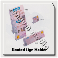 SLANTED SIGN HOLDER A4 8852 BANTEX