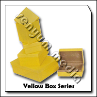 PASS BOX YELLOW 155X105X65 8901 73