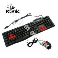 KEYBOARD + MOUSE KOMIC USB